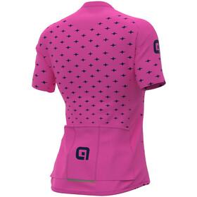 Alé Cycling PRR Stars SS Jersey Women, fluo pink/navy blue